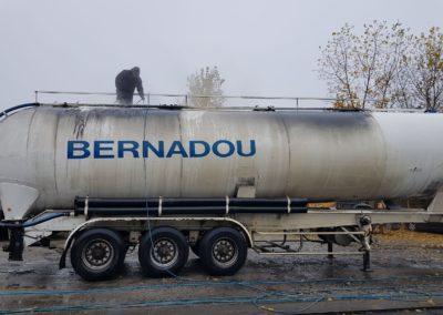 Tous Types de lavages poids lourds - SN FranceLav - Lavage extérieur camion citerne